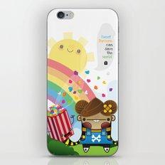 PopCorn can save the world iPhone & iPod Skin