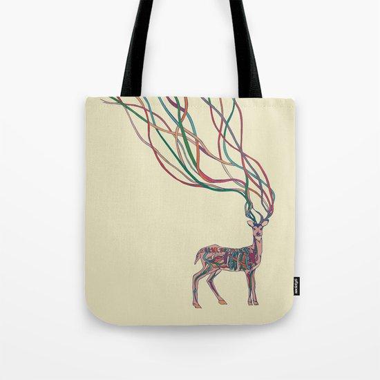 Deer Ribbons Tote Bag
