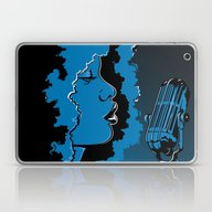 Jazz Singer Laptop & iPad Skin