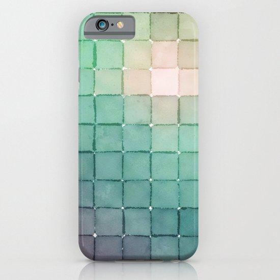 Polaroid Pixels VIII (Glow) iPhone & iPod Case