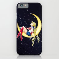 iPhone Cases featuring Pretty Guardian Sailor Moon by Yue Graphic Design