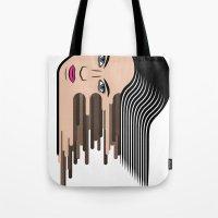 Flows girl Tote Bag
