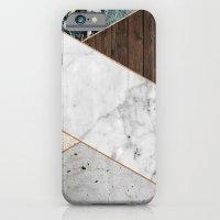 Rose Gold Chevron iPhone 6 Slim Case