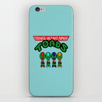 Teenage Mutant Ninja Toads iPhone & iPod Skin