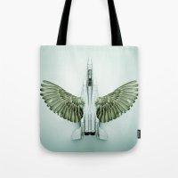 Mutant Plane Tote Bag