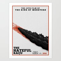 The Hateful Kaiju Art Print