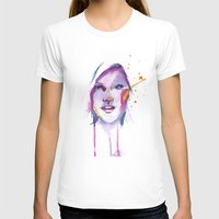 She Womens Fitted Tee White SMALL