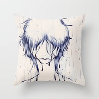 Downpour Truth Throw Pillow