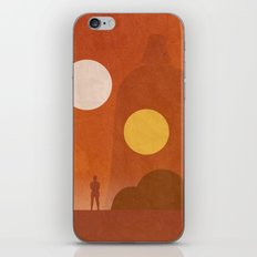A New Hope Movie Poster iPhone & iPod Skin