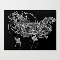 As the Deer Canvas Print