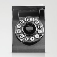 Rotary Phone Stationery Cards
