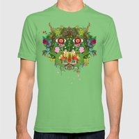 Cabana Fever Mens Fitted Tee Grass SMALL