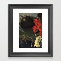 Stars and Tides Framed Art Print