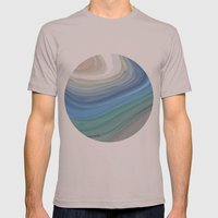 Topography Mens Fitted Tee Cinder SMALL