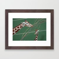 Hello There! Framed Art Print