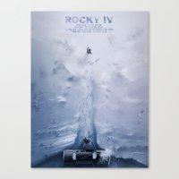 Rocky IV Canvas Print