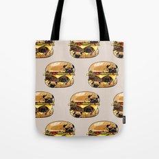 Pugs Burger Tote Bag