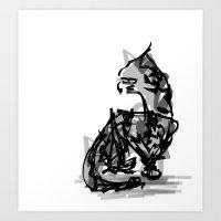 Mousey Mousey Art Print
