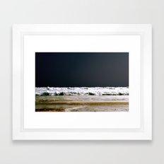 night dip Framed Art Print