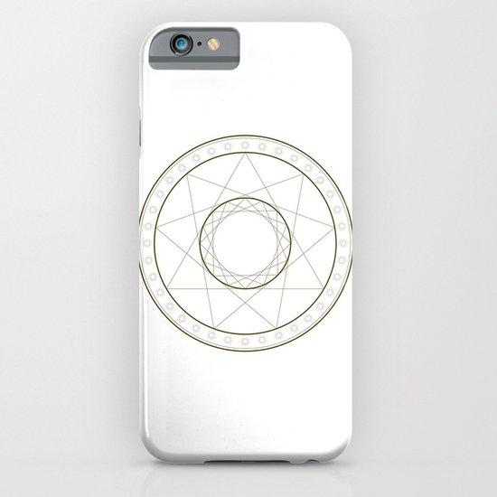 Anime Magic Circle 14 iPhone & iPod Case