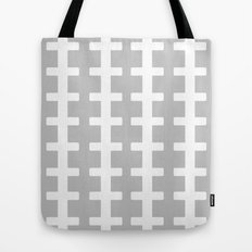 GRAY/WHITE  + Tote Bag