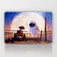 Wall-E & Eve - Painting … Laptop & iPad Skin