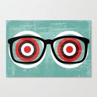 Bullseyes Canvas Print