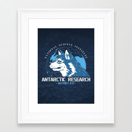 Outpost#31 Framed Art Print