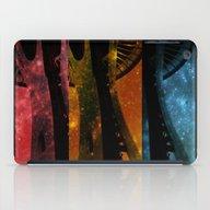 Colorful Space Needle iPad Case