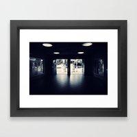 Abandoned Train Station,… Framed Art Print