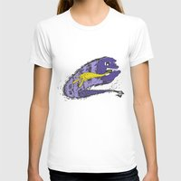 Cannon Ball (Purple&Yell… Womens Fitted Tee White SMALL