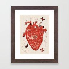 When I Die... Framed Art Print