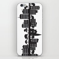 Park Slope Skyline (B&W) iPhone & iPod Skin