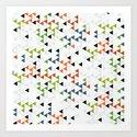 pattern series 045 Art Print
