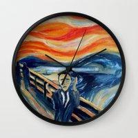 Albert Camus Wall Clock