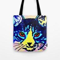 Pop Art Cat No. 2 Tote Bag