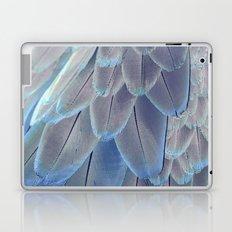 Silver Feathers Laptop & iPad Skin