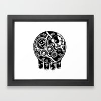 Time Bomb (Inverted) Framed Art Print