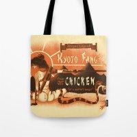 Kyoto Fang's Chicken Tote Bag