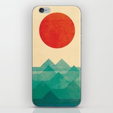 The Ocean, The Sea, The … iPhone & iPod Skin