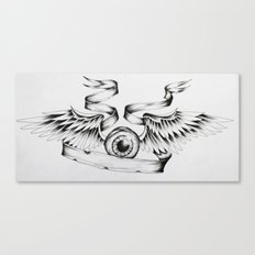 Eye Fly Canvas Print