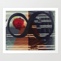 Art Print featuring Infinito by Citron Né