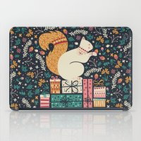 Merry Little Squirrel  iPad Case