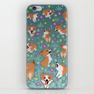 Corgis iPhone & iPod Skin