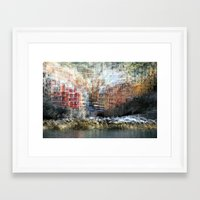 All About Italy. Piece 17 - Riomaggiore Essence Framed Art Print