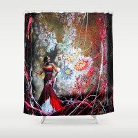 Eveningstar  Shower Curtain