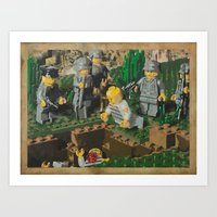 The Death of 90064 Art Print