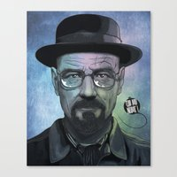 Heisenberg, Say my name! Canvas Print