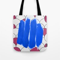Blu Imperfection Tote Bag