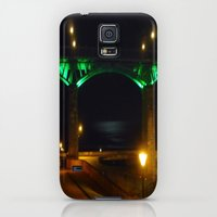 Galaxy S5 Cases featuring Scarborough By Night by Caspardistra
